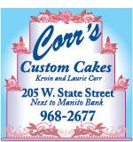 Corr's Custom Cakes