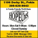 Hope Chest Pekin