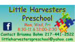 Little Harvesters Preschool